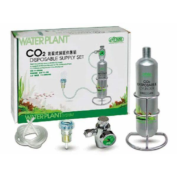 ست کامل CO2 با کپسول یکبار مصرف 95 گرمی _ Ista CO2 disposable supply set