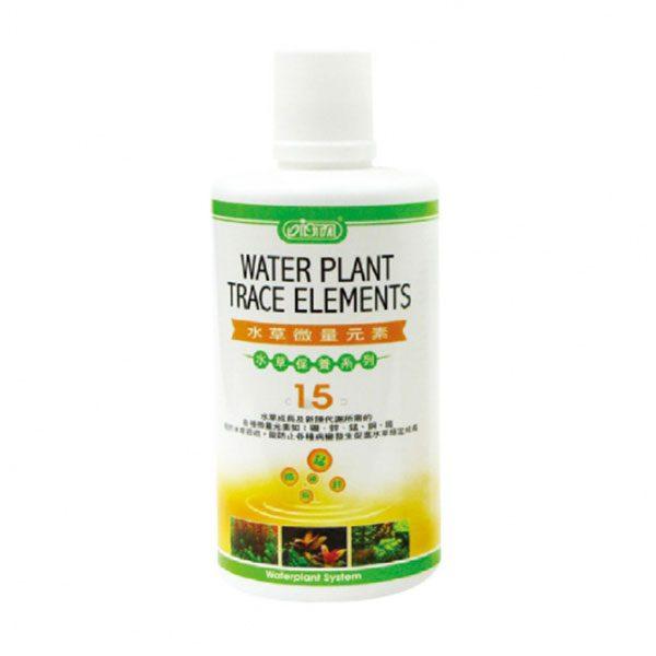 عناصر کمیاب _ Ista Water Plant Trace Elements