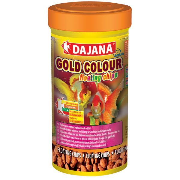 گلد کالر فلوتینگ چیپ Gold Colour Floating Chips