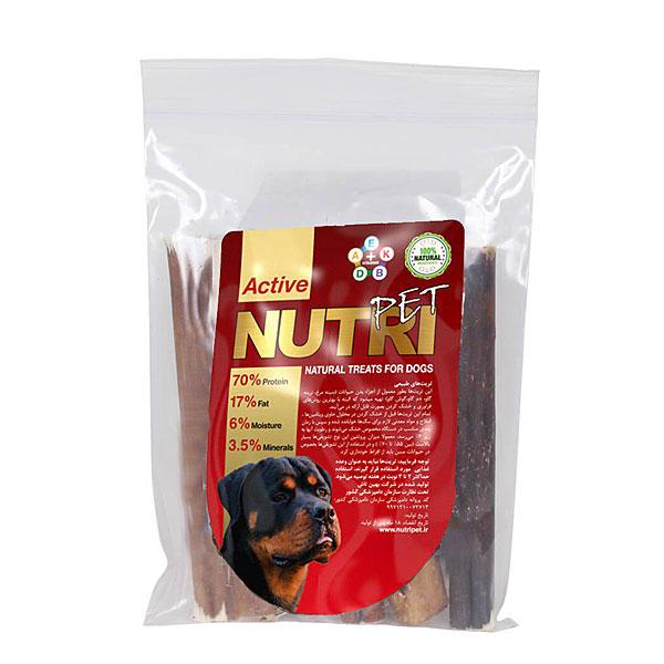 غذای تشویقی تریت نرینه نوتری پت NUTRI PET