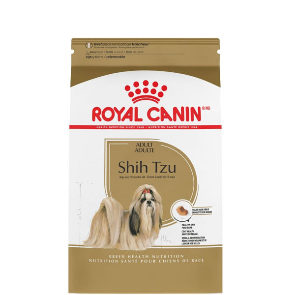 غذای خشک سگ بالغ شیتزو بالای 10 ماه