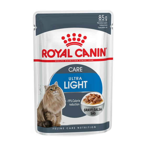 غذای پوچ رژیمی گربه بالغ اولترا لایت رویال کنین - ROYAL CANIN