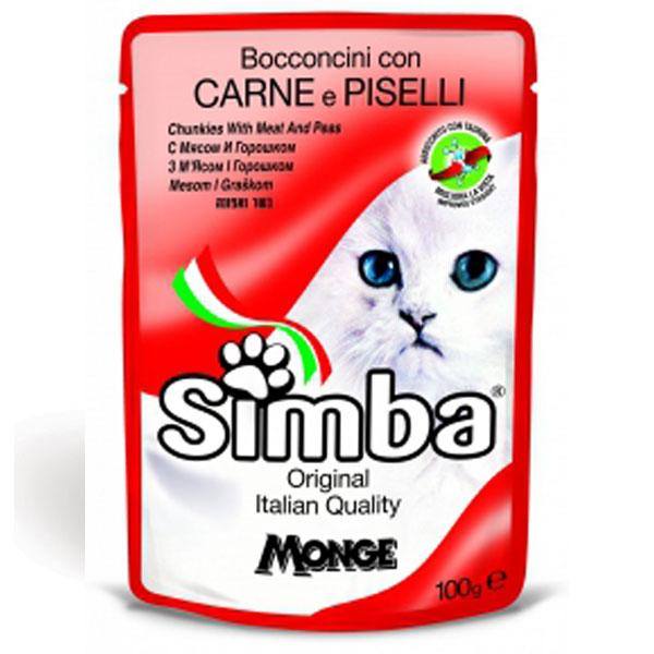 غذای پوچ گربه سیمبا