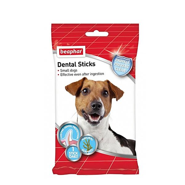 تمیز کننده دندان سگ های کوچک دنتال استیک بیفار - Beaphar Dental Sticks