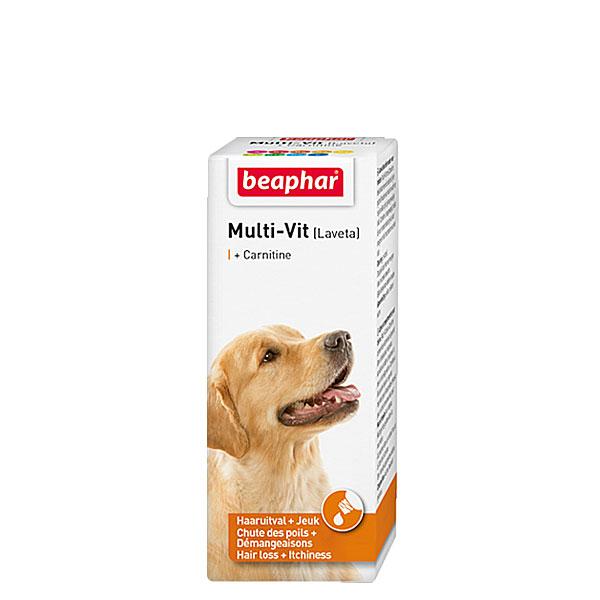 قطره مولتی ویتامین سگ لاوتا کارنیتین بیفار - Beaphar Multi Vit