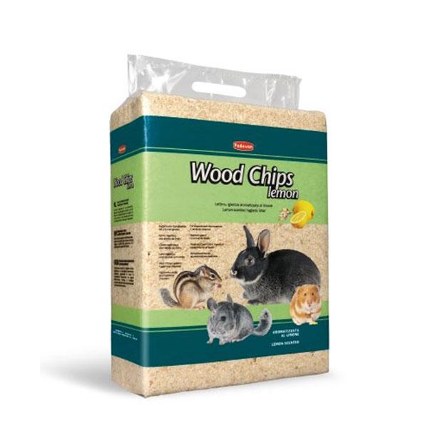 خاک بستر جوندگان با اسانس لیمو پادوان - Padovan Wood Chips Lemon