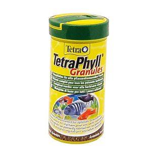 غذای سرشار از الیاف ماهی گرانولی تترا - Tetra Phyll granules
