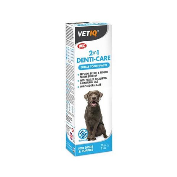 ژل محافظ دندان سگ و گربه 2 در 1 وت آی کیو - VETIQ 2 in 1 Denti Care