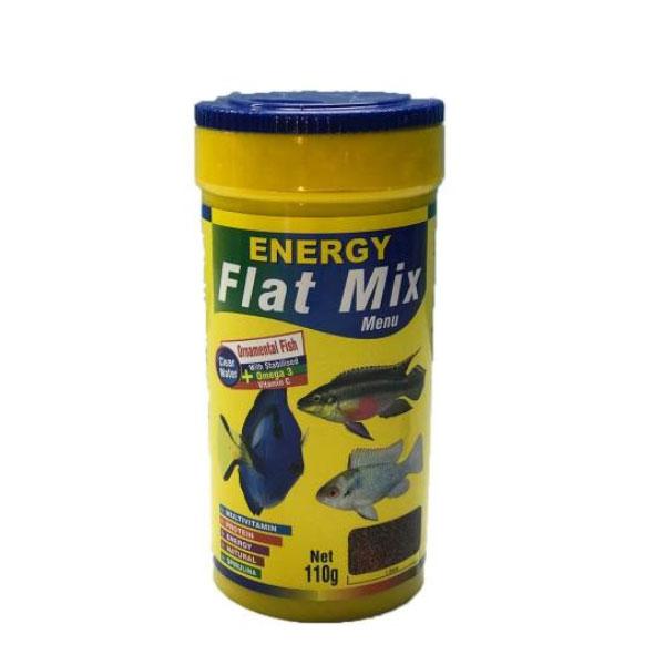 غذای ماهی فلت میکس منو انرژی - Energy Flat Mix Menu