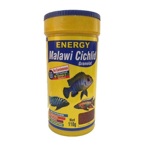 غذای گرانولی ماهی سیچلاید مالاوی انرژی - Energy Malawi Cichlid