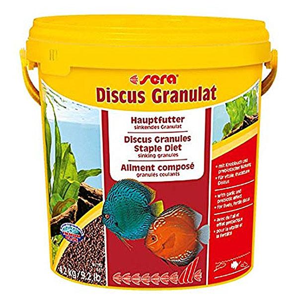 غذای گرانولی ماهی دیسکس سرا - Sera discus granulat