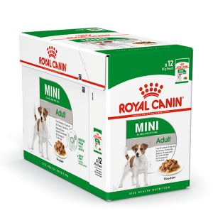 غذای پوچ سگ بالغ نژاد کوچک رویال کنین - ROYAL CANIN SHN mini adult pouches