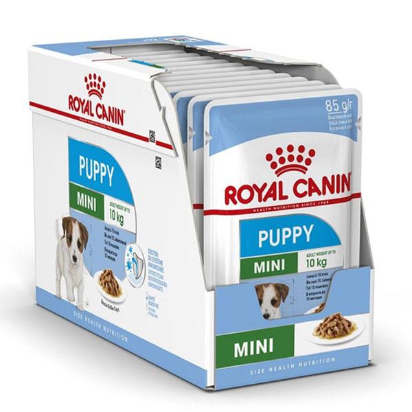غذای پوچ توله سگ نژاد کوچک رویال کنین - ROYAL CANIN SHN mini adult pouches