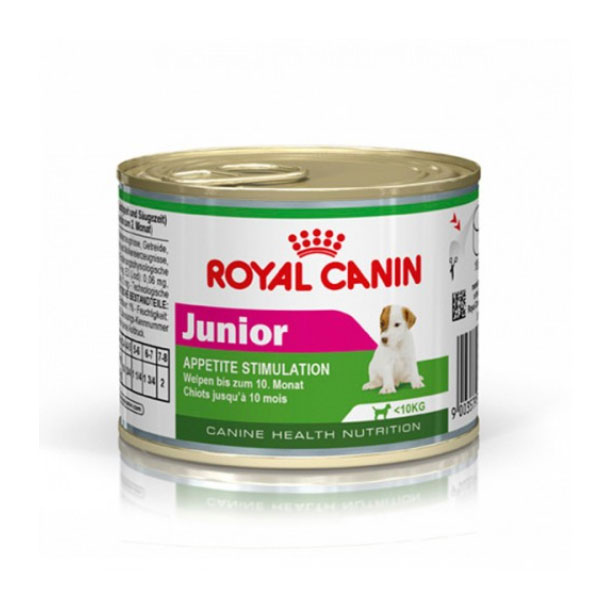 کنسرو مخصوص توله سگ نژاد کوچک رویال کنین - Royal Canin Junior Appetite Stimulation