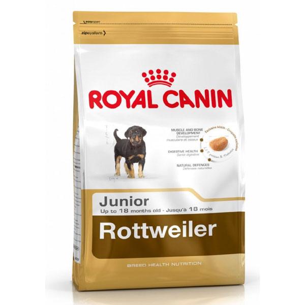 غذای خشک سگ پاپی نژاد روتفایلر رویال کنین - Royal Canin Rottweiler Puppy