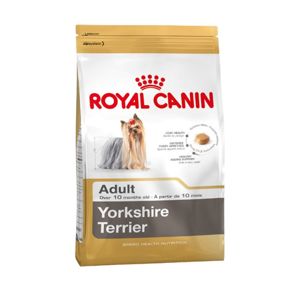 غذای خشک سگ بالغ یورکشایر رویال کنین - Royal Canin Yorkshire Adult