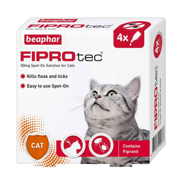قطره ضد کک و کنه ویژه گربه بیفار - Beaphar FIPROtec for Cats