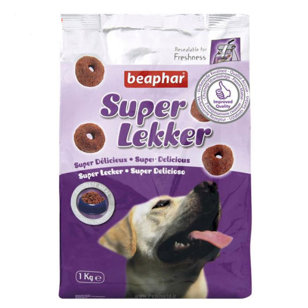 تشویقی سوپر لکر ویژه سگ بیفار - Beaphar Super Lekker