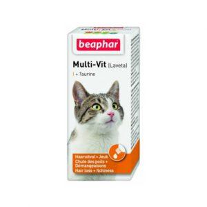 شربت مولتی ویتامین ویژه گربه بیفار - Beaphar Multi-Vit Cat