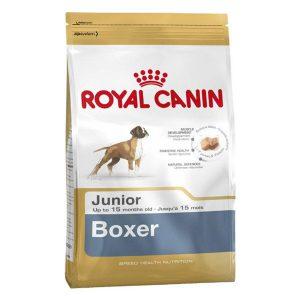غذای خشک سگ پاپی نژاد باکسر رویال کنین - Royal Canin Boxer Puppy