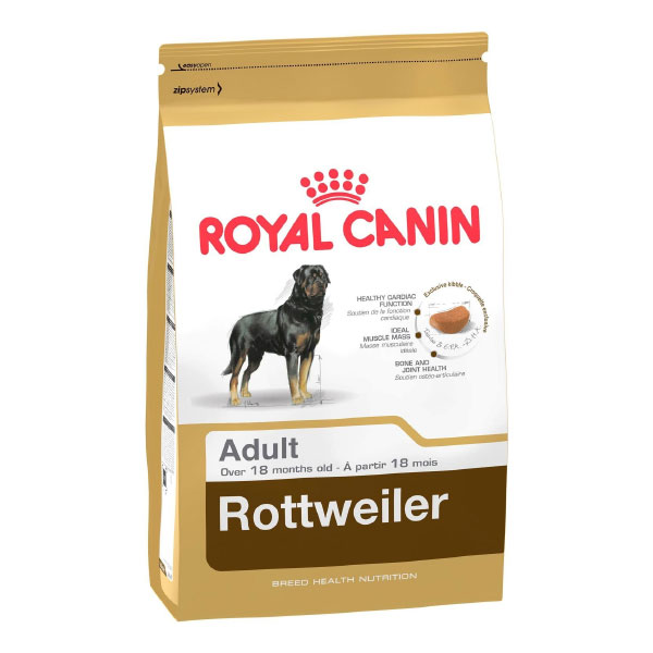 غذای خشک سگ ادالت نژاد روتفایلر رویال کنین- Royal Canin Rottweiler Adult