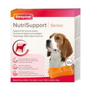 ژل مراقبتی نوتری ساپورت ویژه سگ مسن بیفار - Beaphar Nutri Support Senior Dog