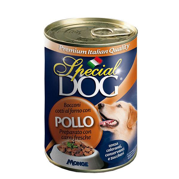 کنسرو سگ با طعم مرغ اسپشیال داگ