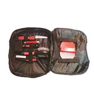 ست آرایشی و بهداشتی سگ و گربه همراه با کیف