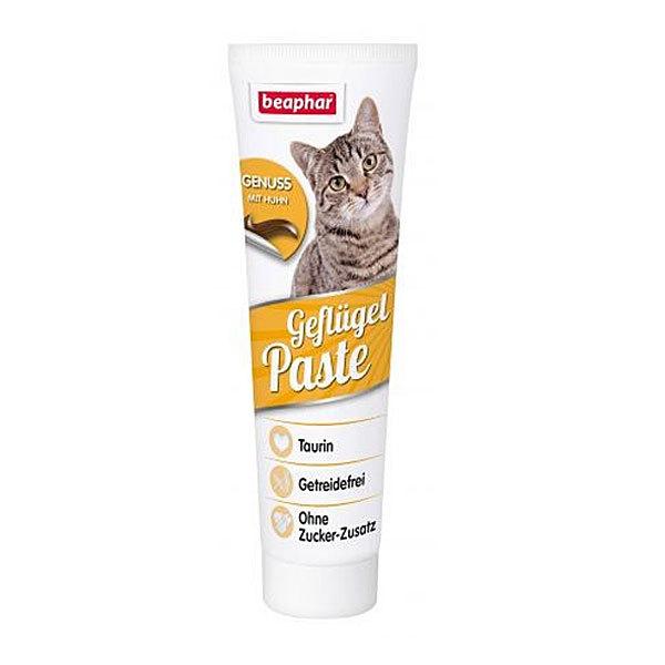 اسنک خمیری با طعم مرغ بیفار - Beaphar Poultrv Oil Paste