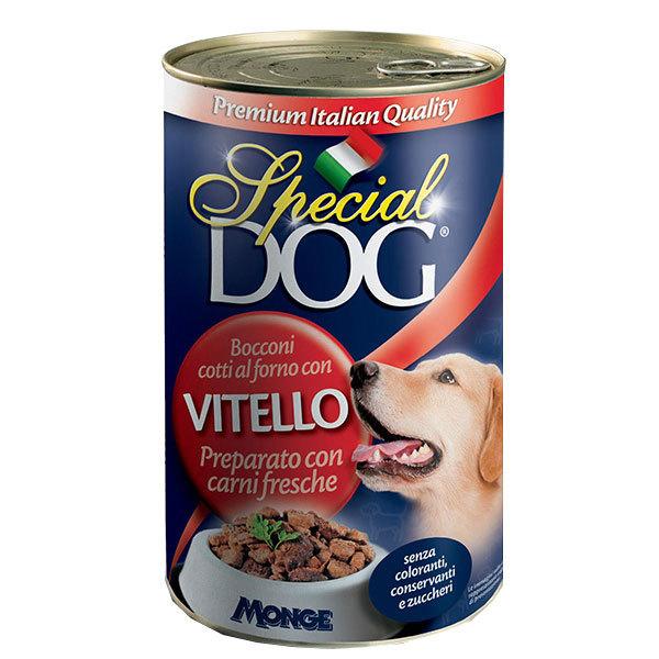 کنسرو سگ با طعم گوساله اسپشیال داگ - Special Dog With Veal