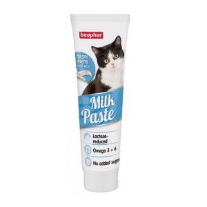 اسنک خمیری با طعم شیر بیفار - Beaphar Milk Oil Paste