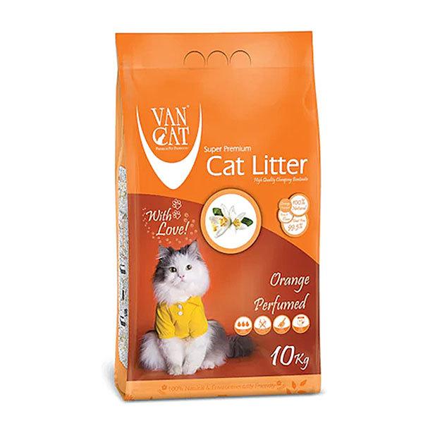 خاک گربه ون کت با رایحه پرتقال – VanCat Orange
