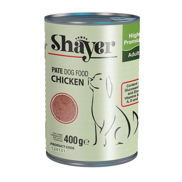 کنسرو سگ شایر با طعم مرغ - Shayer Chicken
