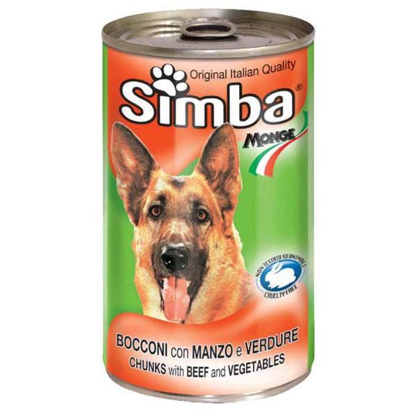 کنسرو چانک با طعم بیف و سبزیجات سیمبا - Simba With Beef & Vegetables
