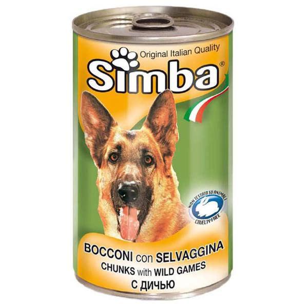 کنسرو چانک با طعم گوشت شکار سیمبا - Simba With Wild Games