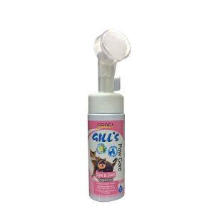 فوم نظافت دست و پای سگ و گربه جیلز - Gills Paw Care Foam