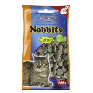 اسنک گربه نوبیتس حاوی کت نیپ – Nobby Nobbits Catnip