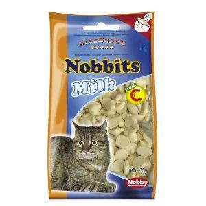 اسنک گربه نوبیتس با طعم شیر نوبی – Nobby Nobbits Milk