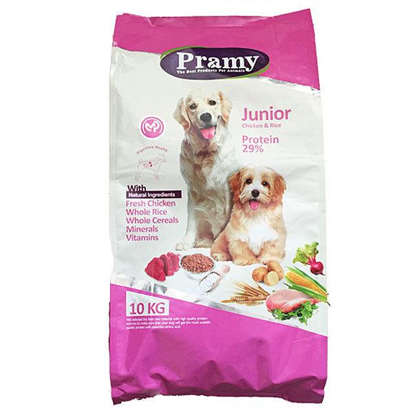 غذای خشک سگ جوان پرامی – Pramy Junior