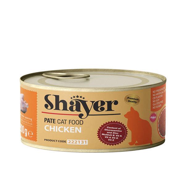 کنسرو گربه شایر با طعم مرغ – Shayer Chicken