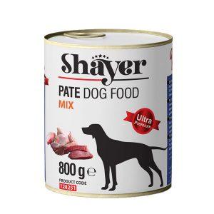 کنسرو سگ 800 گرمی میکس شایر - Shayer Mix