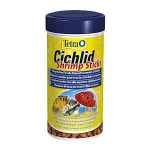 غذای سیچلاید با طعم میگو تترا – Tetra Cichlid Shrimp Sticks