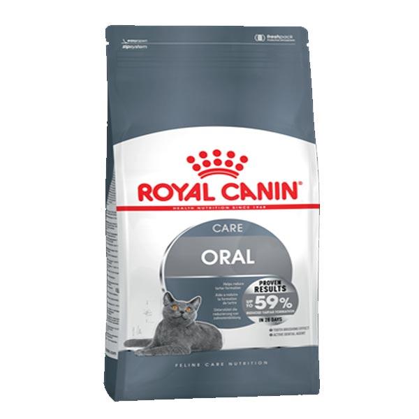 غذای گربه مراقبت از دهان و دندان اورال رویال کنین – Royal canin care oral