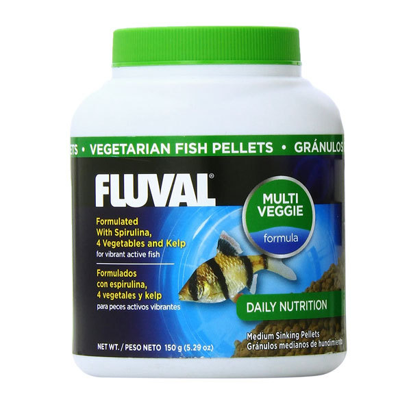 غذای گرانولی گیاهی فلووال – Fluval Vegetable Pallets