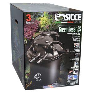 فیلتر سطلی همراه با UVC سیچه – Sicce Green Reset 25L