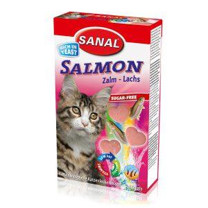 تشویقی با طعم ماهی سالمون سانال – Sanal Salmon